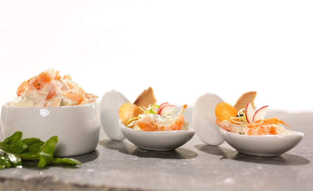 Salades de poissons